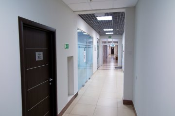 В коридоре 3-го этажа