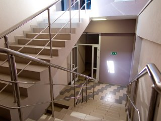 Вторая лестница ДЦ Европа