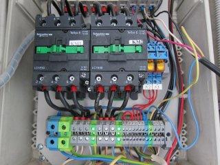 Электрощит управления вентиляцией