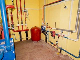 Помещение систем отопления
