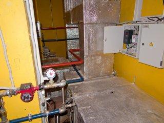 Помещение систем вентиляции