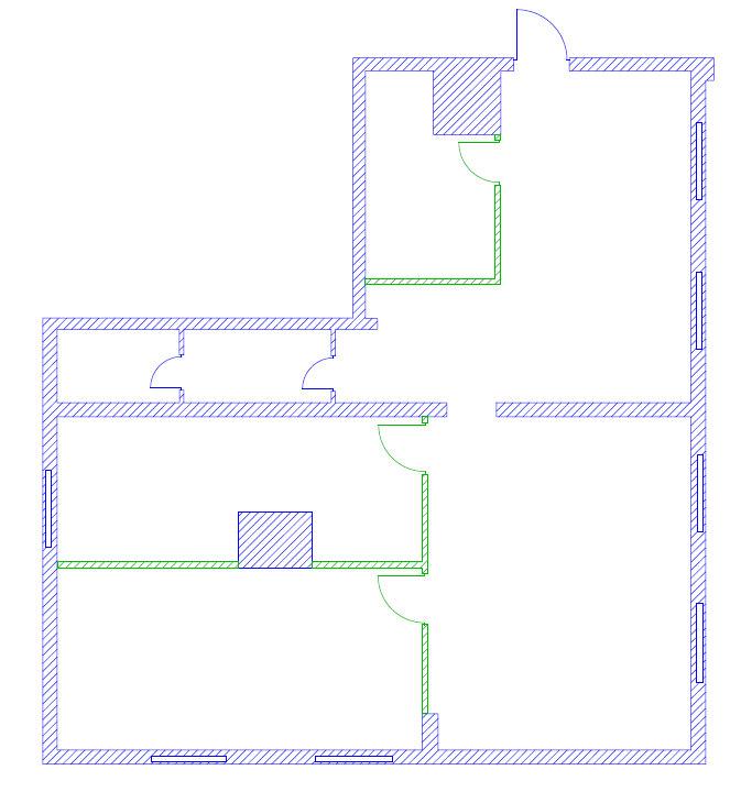 Планировка на этаже